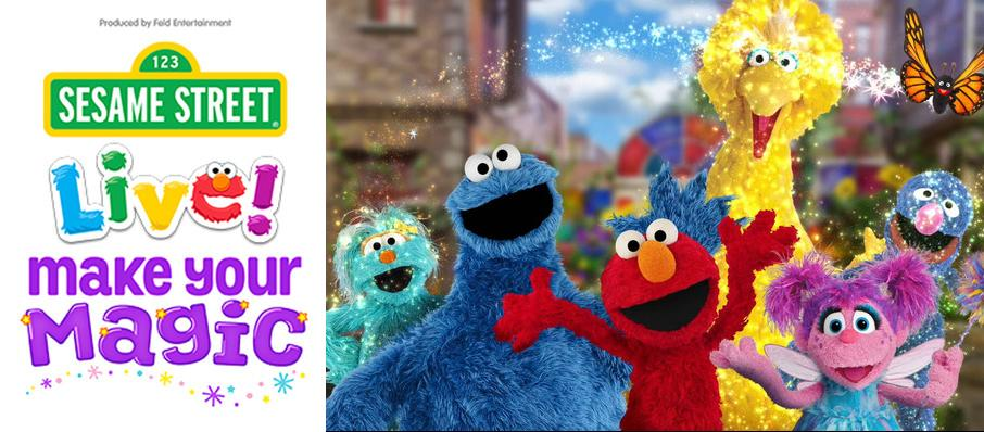 Sesame Street Live - Make Your Magic at Bismarck Civic Center